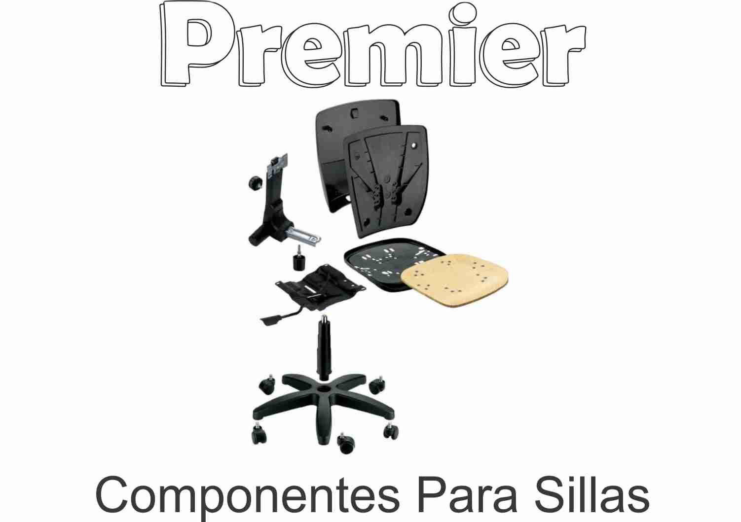 Accesorios y Componentes para muebles de oficinas