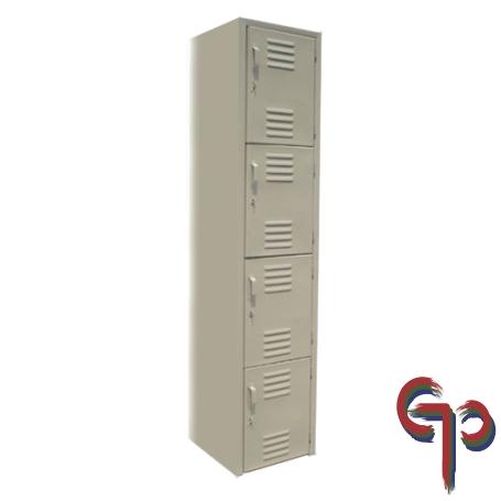 Locker 4 Puertas